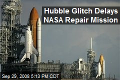 Hubble Glitch Delays NASA Repair Mission