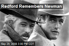 Redford Remembers Newman