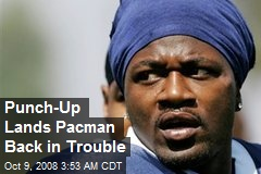 Punch-Up Lands Pacman Back in Trouble