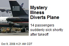 Mystery Illness Diverts Plane