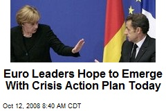 Euro Leaders Hope to Emerge With Crisis Action Plan Today