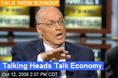 Talking Heads Talk Economy
