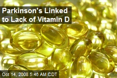 Parkinson's Linked to Lack of Vitamin D