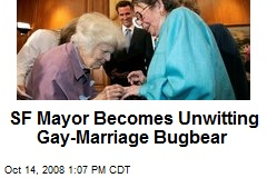 SF Mayor Becomes Unwitting Gay-Marriage Bugbear