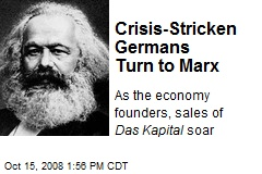 Crisis-Stricken Germans Turn to Marx