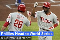 Phillies Head to World Series