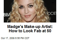 Madge's Make-up Artist: How to Look Fab at 50
