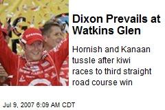 Dixon Prevails at Watkins Glen