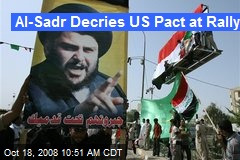 Al-Sadr Decries US Pact at Rally