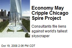 Economy May Cripple Chicago Spire Project