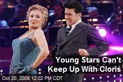Young Stars Can't Keep Up With Cloris