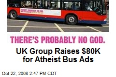 UK Group Raises $80K for Atheist Bus Ads
