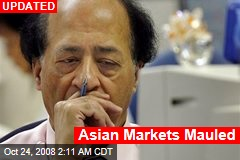 Asian Markets Mauled