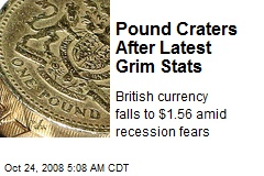 Pound Craters After Latest Grim Stats