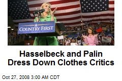 Hasselbeck and Palin Dress Down Clothes Critics