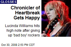Chronicler of Heartbreak Gets Happy
