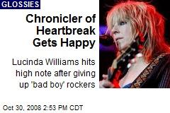 Chronicler of Heartbreak Gets Happy