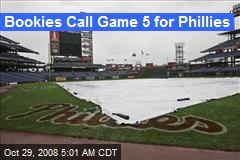 Bookies Call Game 5 for Phillies