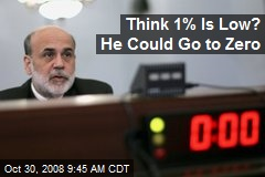 Think 1% Is Low? He Could Go to Zero
