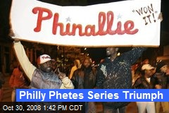 Philly Phetes Series Triumph