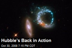 Hubble's Back in Action