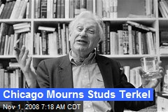 Chicago Mourns Studs Terkel