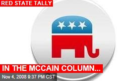 IN THE MCCAIN COLUMN...