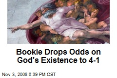 Bookie Drops Odds on God's Existence to 4-1