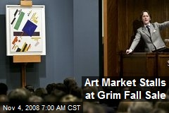 Art Market Stalls at Grim Fall Sale