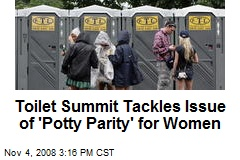 Toilet Summit Tackles Issue of 'Potty Parity' for Women
