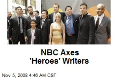 NBC Axes 'Heroes' Writers