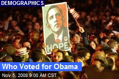Who Voted for Obama