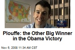 Plouffe: the Other Big Winner in the Obama Victory