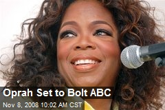 Oprah Set to Bolt ABC