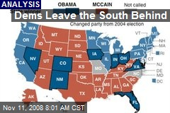 Dems Leave the South Behind