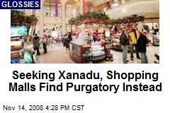 Seeking Xanadu, Shopping Malls Find Purgatory Instead