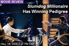 Slumdog Millionaire Has Winning Pedigree