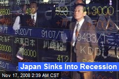 Japan Sinks Into Recession