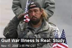 Gulf War Illness Is Real: Study