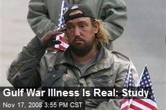 Gulf War Illness Is Real: Study