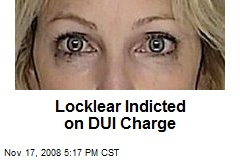 Locklear Indicted on DUI Charge