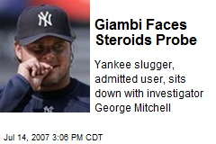 Giambi Faces Steroids Probe