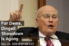 For Dems, Dingell Showdown Is Agony