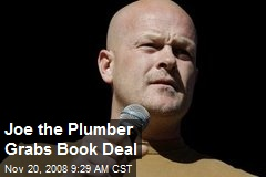 Joe the Plumber Grabs Book Deal