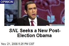 SNL Seeks a New Post-Election Obama