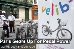 Paris Gears Up For Pedal Power