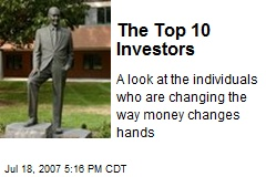 The Top 10 Investors