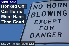 Honked Off: Car Horns More Harm Than Good
