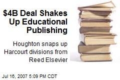 $4B Deal Shakes Up Educational Publishing