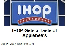 IHOP Gets a Taste of Applebee's